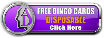 Free Bingo Cards Disposable